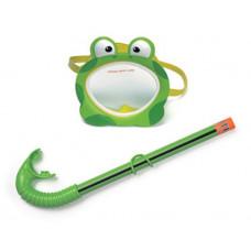"""Maschera e boccaglio Intex """"Froggy Fun Set"""""""