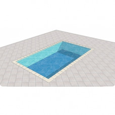 Piscina in Kit Calypso-Fibro C.A. m. 3.6x4.80