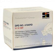 Pastiglie DPD 4 Tester analisi ossigeno 10 pz.