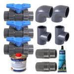 Solventi/colle per PVC
